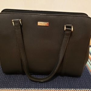 Kate Spade Black Handbag Large